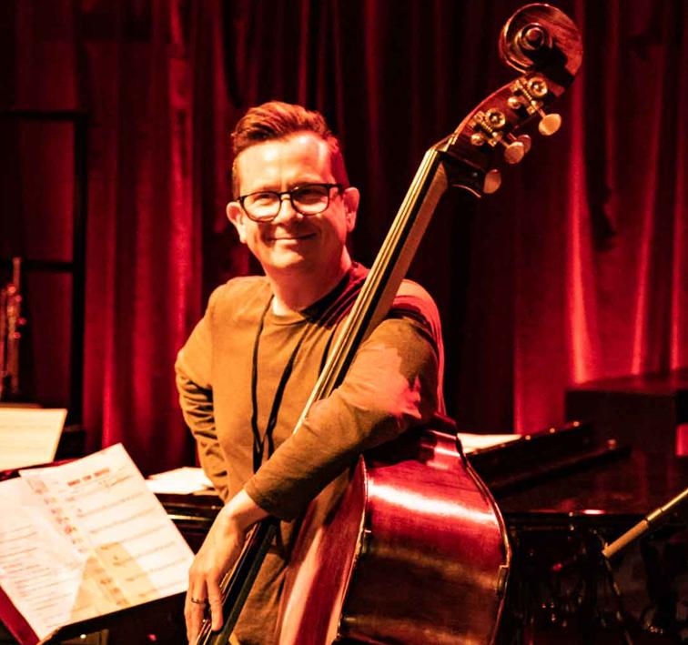 Sam Burgess Upright Bass Musician